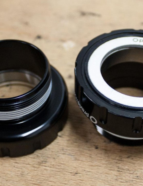 The Praxis Works cups for our 68mm threaded BB