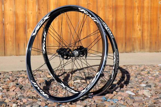 The Rolf Prima VCX Disc road wheelset can technically be used with either rim or disc brakes - although that sort of versatility is fast becoming unnecessary