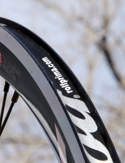 The rims' profile will leave tubeless devotees disappointed