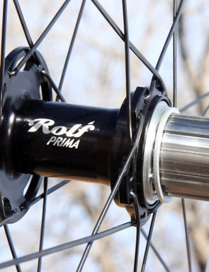 Hub internals - including the titanium freehub body - come courtesy of White Industries