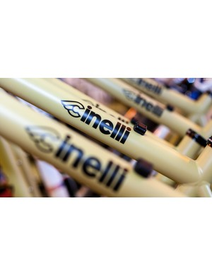 Cinelli Hobo frames waiting to be built up
