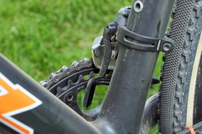 A SRAM chain catcher provides a little bit of insurance in case things go sideways
