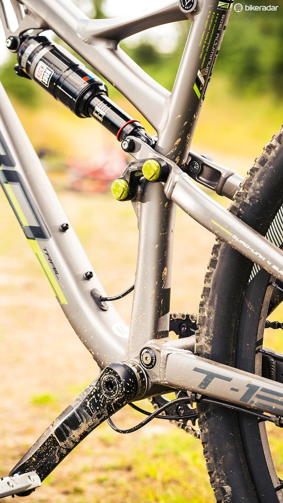 Whyte's four-bar linkage delivers taut and direct feeling bounce