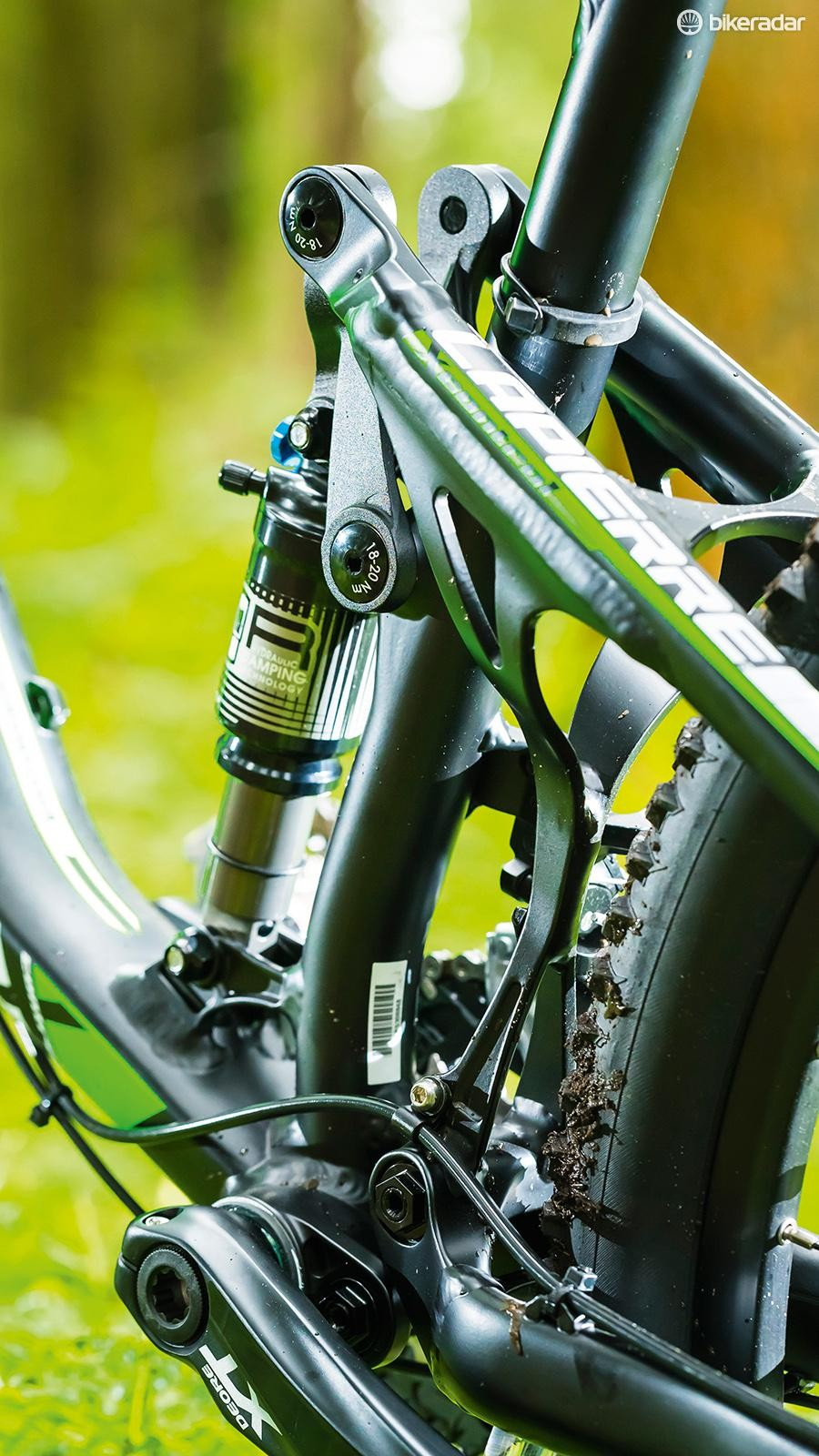 FPS+ suspension is an all new design for 2015