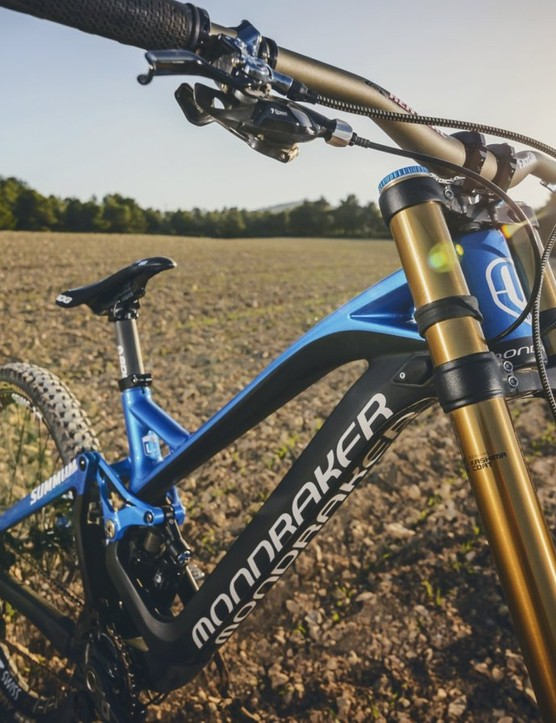 The all new Mondraker Summum downhill bike
