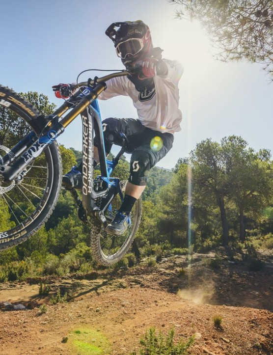 The La Fenosa bike park proved to be a formidable testing ground for the new Summum with a hillside covered in multiple runs, littered with huge rocks and jumps