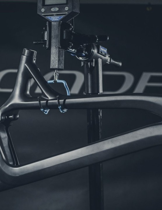 There's no denying that this is a beautiful bicycle frame with racing in its DNA