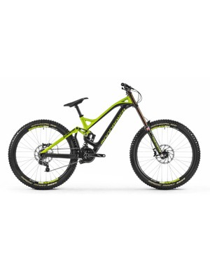 The Summum Pro's lime green and black livery will undoubtedly prove a hit