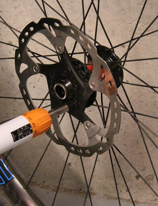 Use a torque wrench to ensure that the bolts are properly tightened