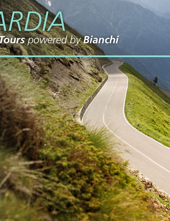The Lombardia powered by Bianchi has a packed cycling itinarary