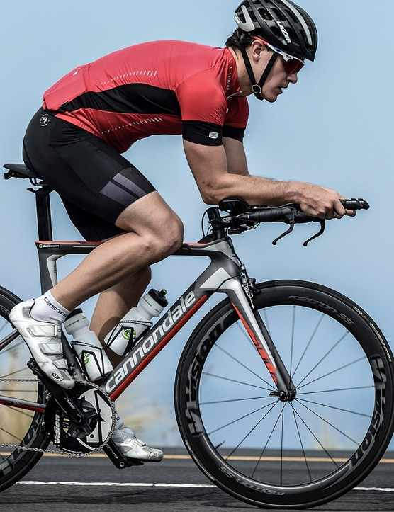 The Slice is designed to cope well in the crosswinds - even in harsh environments like Kona