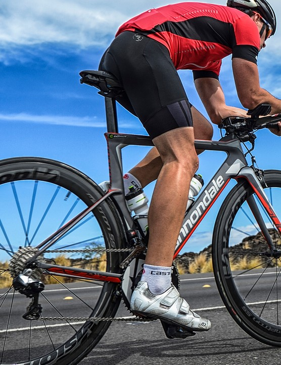 The Slice's comfort is all about smoothing the transition from saddle to legs