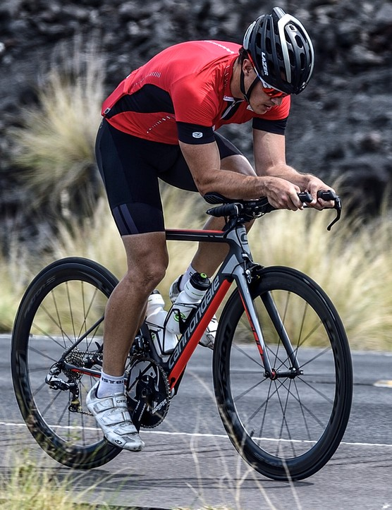 Fit is all-important with the new Slice - it's certainly not your average time trial bike looks-wise