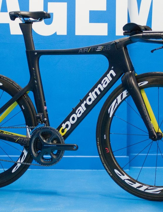 Boardman's AiR TTE 9.8 is the company's top TT frame