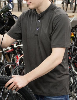 Merino and stylish looks make this jersey from Acre Supply a winner