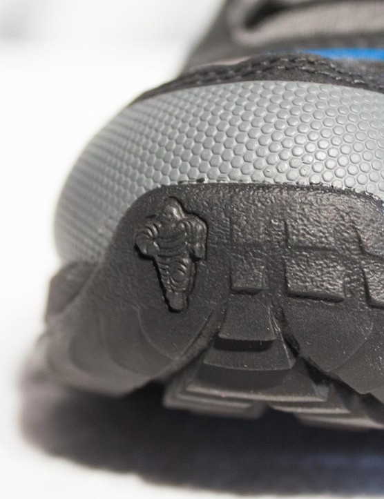 We expect to see more of 'Michelin Man' Bibendum on mountain bike shoes