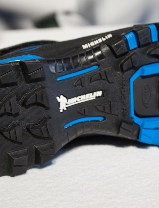 Six individual layers and multiple rubber compounds make for a seriously advanced sole