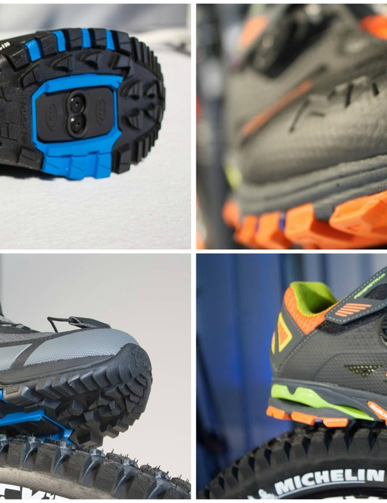 Northwave and Michelin have worked together to produce a line of mountain bike shoes