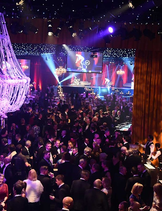 Around £200,000 was raised at the 2014 Champions of Cyclesport Dinner