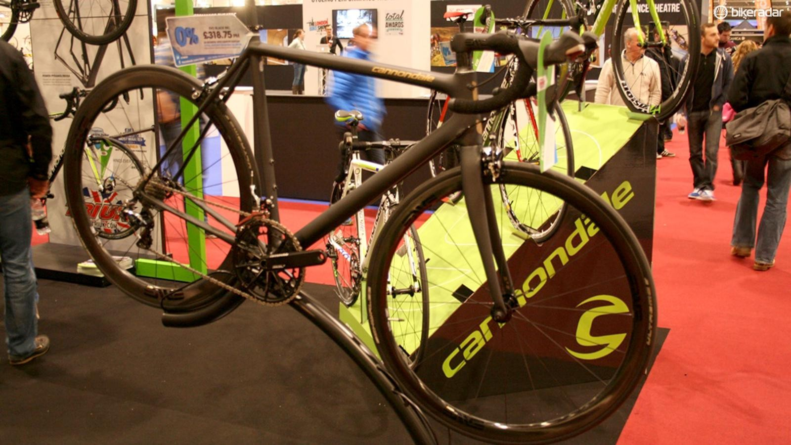 Big brands like Cannondale will be back at the London Bike Show in 2015