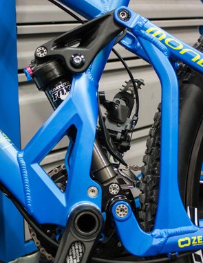 A newly reinforced swingarm has been issued for 2015