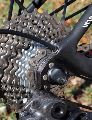 New for 2015 is a wider-range 11-29T cassette option. As Campagnolo's cassette prices increase with tooth size, though, this one will definitely cost you