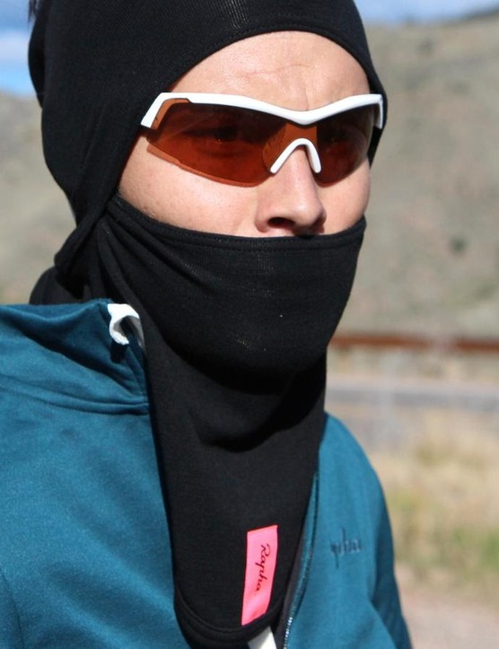 Rapha's Deep Winter Collar can be worn as a balaclava or a neck gaiter