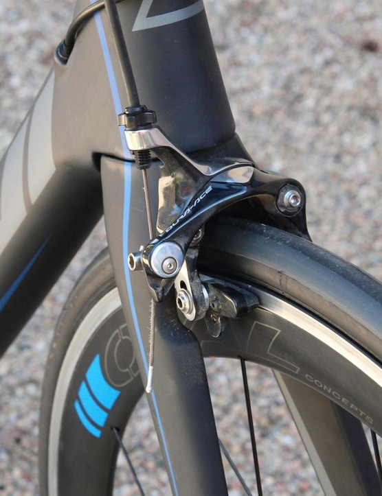 Shimano's new Direct Mount brakes feel great - powerful and easy to modulate