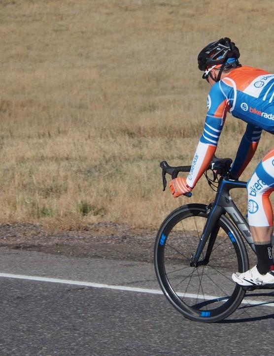If you are looking for an aero race bike, you can do a lot worse than Fuji's Transonic 1.3