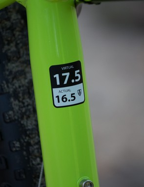 Trek's sizing is a little different to other brands – this size we tested is equivalent to a medium from other brands. Speak to your local dealer to establish what will fit you best