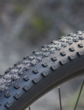 Bontrager's XR-1 tyres offer a generous volume and versatile tread pattern for many trails. However, the wire-bead construction means that plenty of weight can be saved in this area with an upgrade