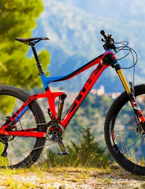 Cube Stereo 160 Super HPC Action Team 27.5in