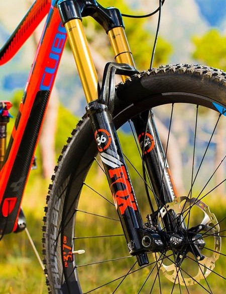 Fox's 34 revamped, 170mm travel 36 fork delivers consistent control and steering accuracy