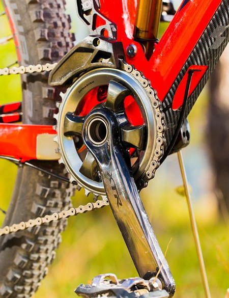 Shimano XTR makes a great first impression in single ring format