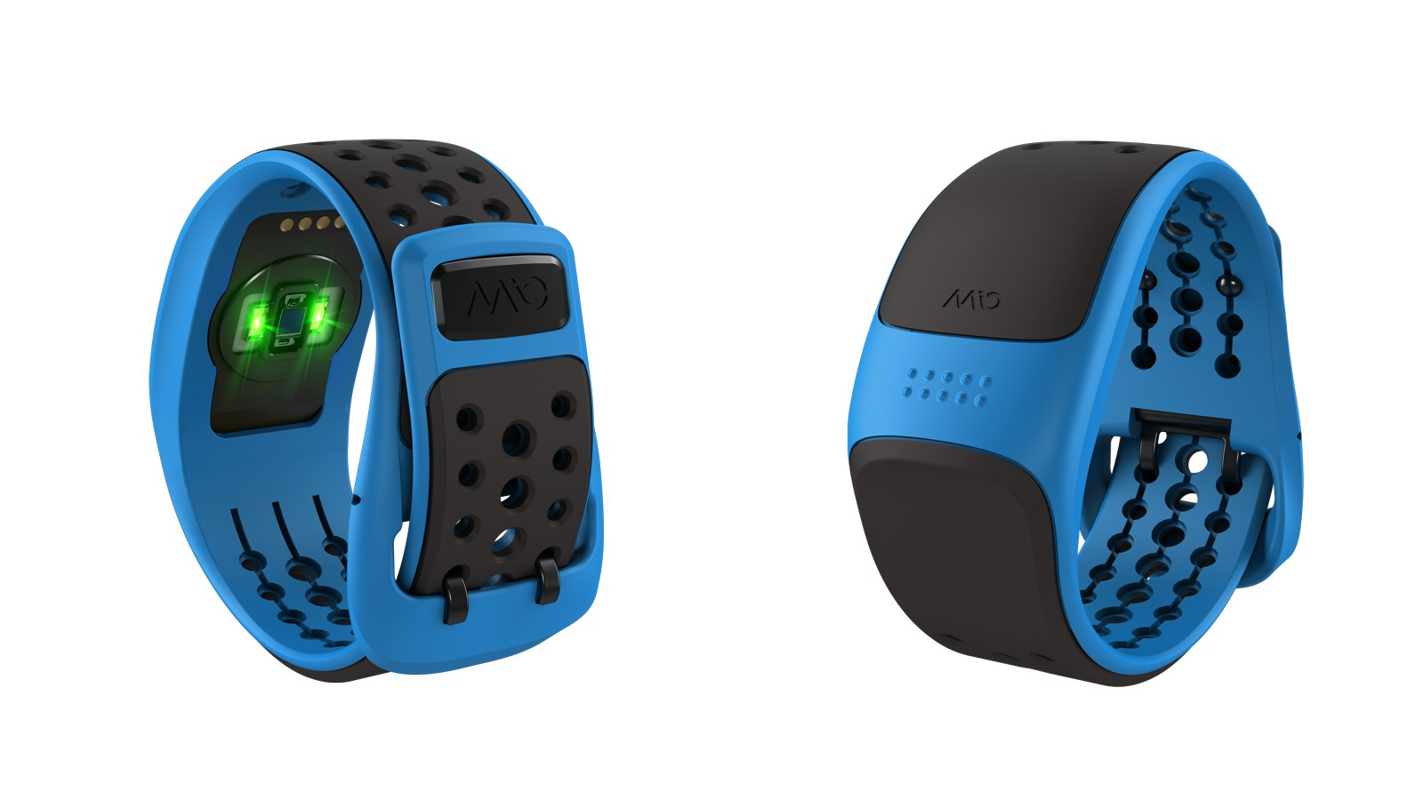 LEDs and an optical sensor detect heart rate, and the VELO can also translate ANT+ signals from speed and cadence sensors into Bluetooth for smartphone connectivity
