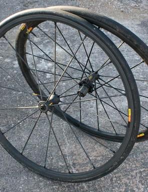 Mavic's R-Sys SLR wheels are super light and ultra stiff