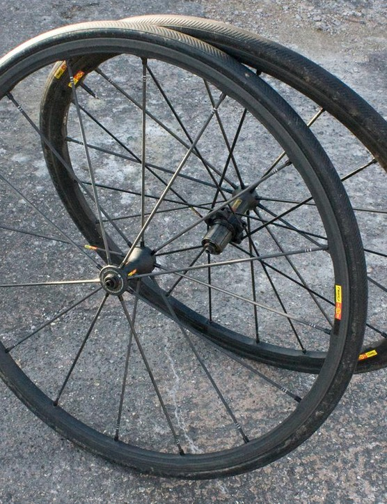 Mavic's R-Sys SLR wheels are super light and ultra stiff