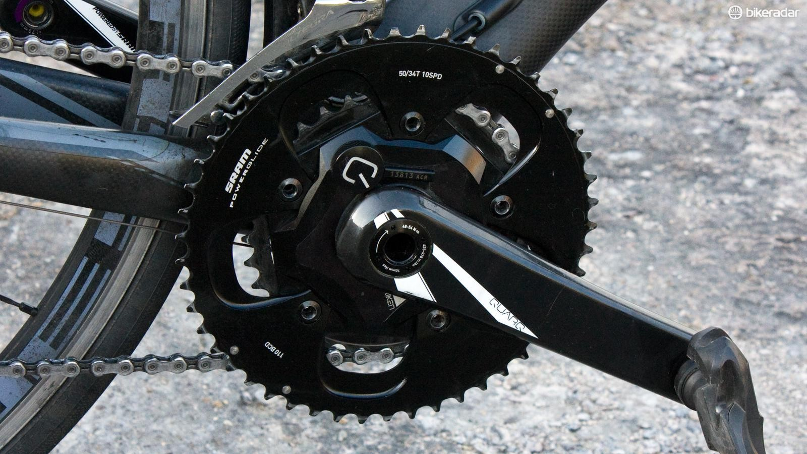 The Quarq Riken 10R is a quality unit that's proven its reliability throughout the year