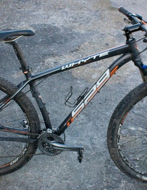 The Whyte 529's spec might make some MTB elitists scoff, but at 28lbs, it's no heavyweight