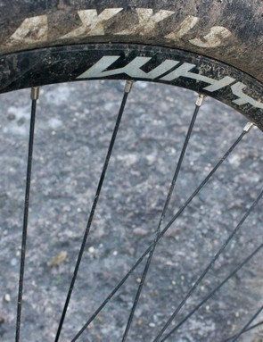 Whyte specs its own 29in wheels with Maxxis Ikon tyres