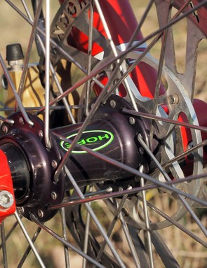 Hope actually used its own spline rotor interface for its hubs 15 years ago