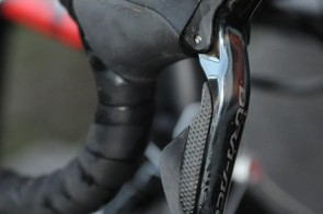 Pauwels is one of many cyclo cross pros who favour Shimano's Di2 electronic shifting for its certainty