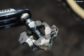 Shimano's XTR M980 mountain bike pedals are one of the most popular amongst 'cross racers