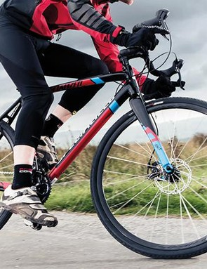 The Crux E5's lively, precise alloy frame will reward updating over time