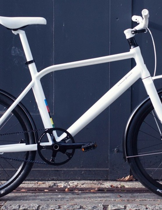 The BFS ThinBike features a long wheelbase and small 24in wheels