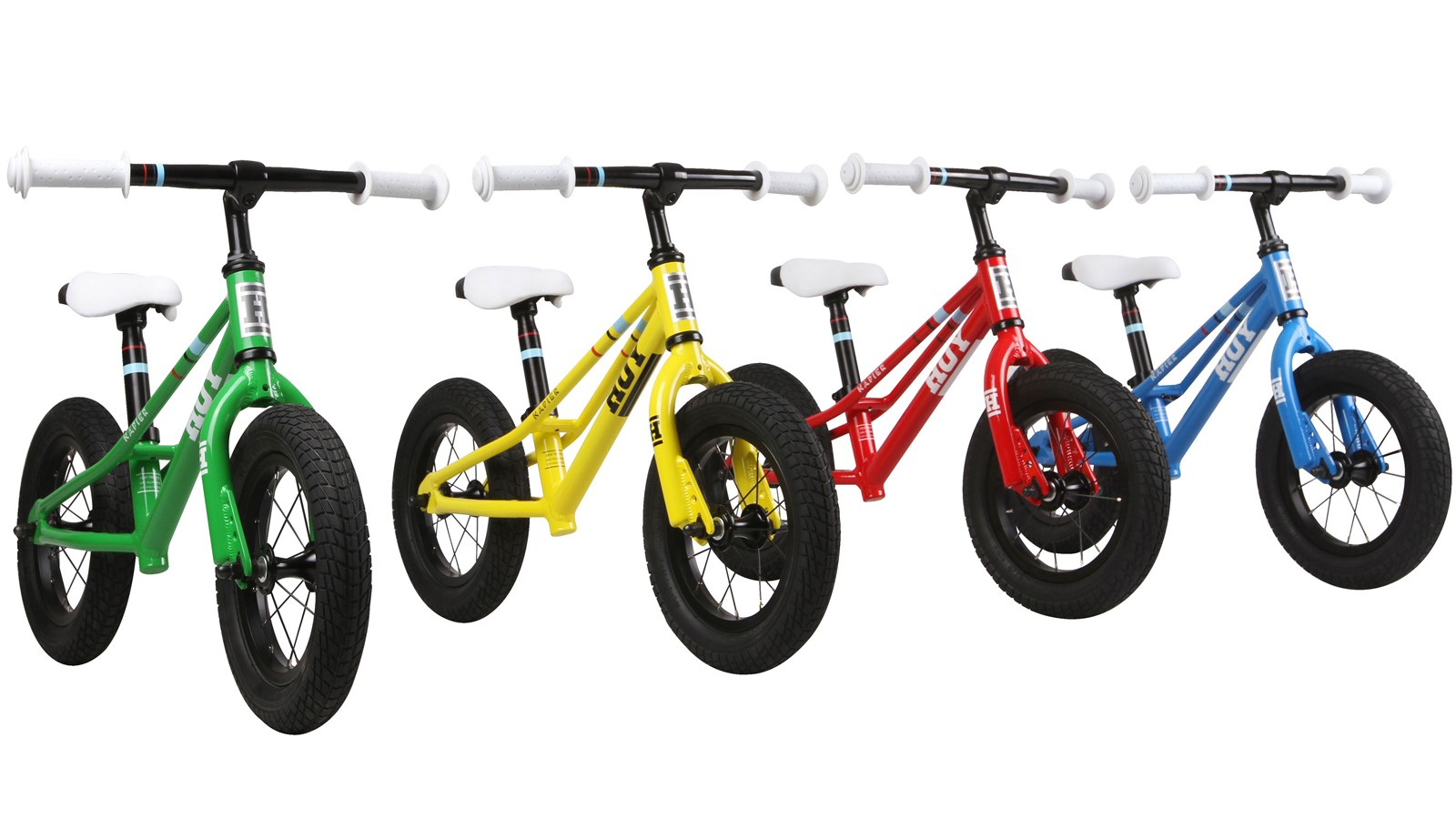 Hoy's Napier Runner Balance Bike now comes in four different colours