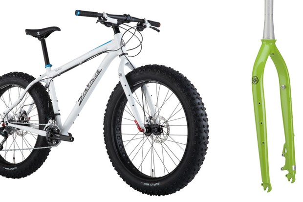 The recalled salsa Bearpaw fork came on Salsa Mukluk fat bikes and was also sold aftermarket