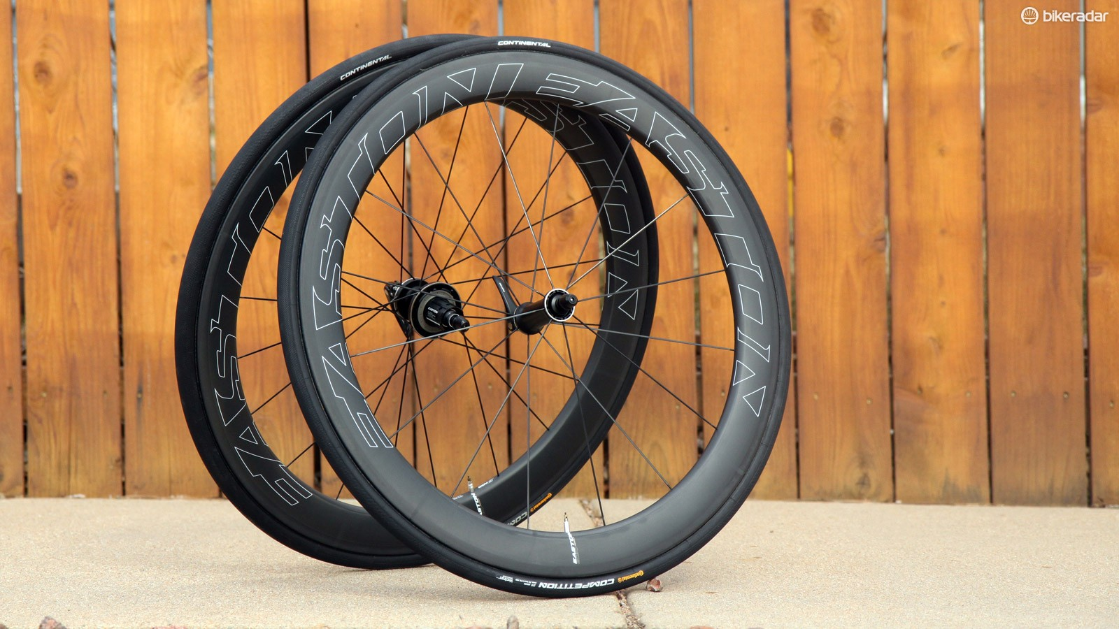Easton's new EC90 Aero 55 carbon tubulars are wickedly fast and very light