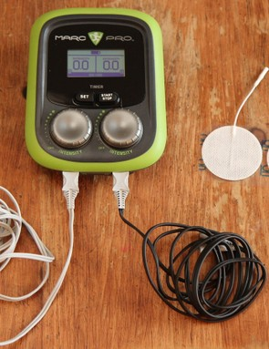 The Marc Pro is an electric muscle stimulator