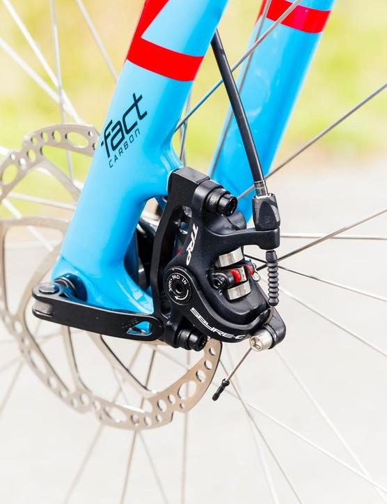 Tektro Spyre disc brakes are a powerful all-weather option